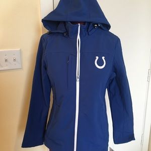 NFL Colts Coat Small NEW